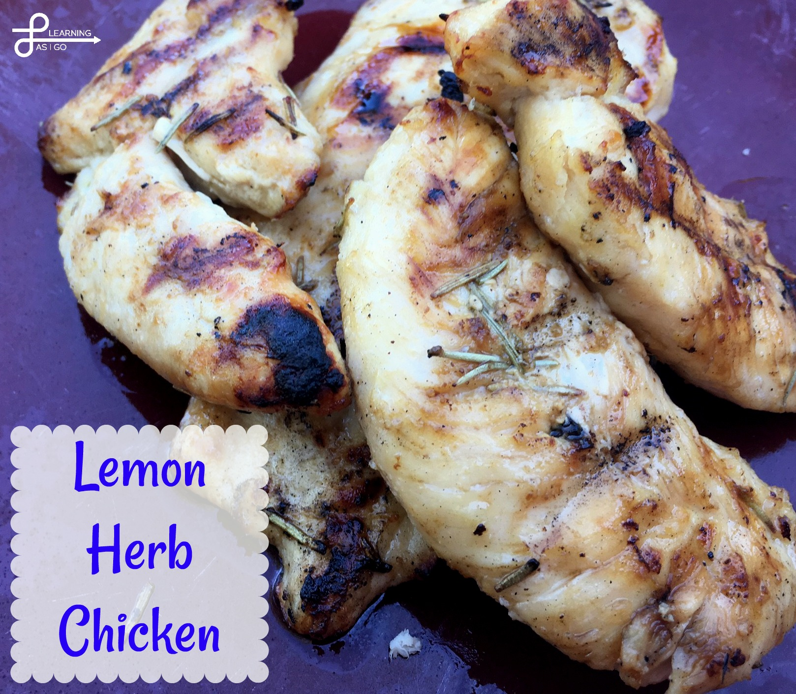 Recipe - Easy Lemon Herb Chicken